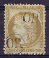 France: Yv  55 Cachet  2* OR   Origine Rurale