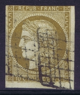 France   Yv 1  Cachets Grille - 1849-1850 Cérès