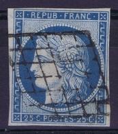 France   Yv 4 Cachet Grille - 1849-1850 Ceres