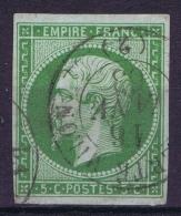 France   Yv 12 Obl - 1853-1860 Napoleon III