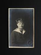 CARTE PHOTO ECOLE NAVALE MATELOT 1919 - 1914-18