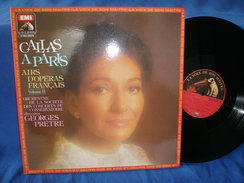 "Maria Callas""33t Vinyle""Callas A Paris"" - Opera"