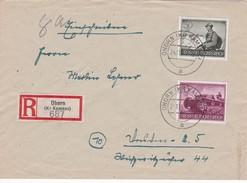 ALLEMAGNE 1944 LR DE OHORN AVEC CACHET ARRIVEE - Germany