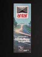 MINIGUIDE DES 24 HEURES DU MANS 12-13 JUIN 1976 - Publicités