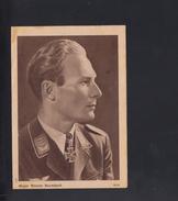 Dt. Reich Feldpost Brief Warnemünde 1944 Major Werner Baumbach - Briefe U. Dokumente