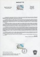 TERRES AUSTRALES 11 DOCUMENTS DES POSTES DE 2001 287/297 - Terres Australes Et Antarctiques Françaises (TAAF)