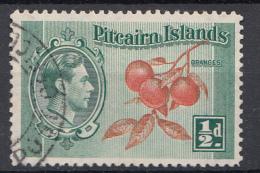 "Pitcairn - Koning George VI - Muiterij ""Bounty""- Pitcairn - Gebruikt/gebraucht/used - M1 - Pitcairneilanden"