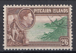 "Pitcairn - Koning George VI - Muiterij ""Bounty""- Fletcher Christian - Pitcairn - Gebruikt/gebraucht/used - M10 - Pitcairneilanden"