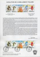 TERRES AUSTRALES 38 DOCUMENTS DES POSTES DE 2002/04 (SAUF 348) - Franse Zuidelijke En Antarctische Gebieden (TAAF)