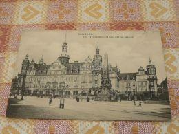 Dresden - Kgl. Residenzschloss Und Wettin-Obelisk Germany - Dresden