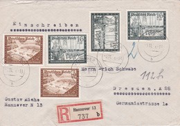 ALLEMAGNE  1939 LR DE HANNOVRE  AVEC CACHET ARRIVEE - Germany