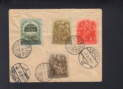 Hungary Expres Cover 1938 To Vienna