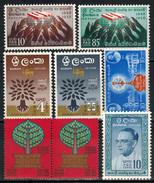 SRI LANKA  -  Lot 8x  ** / MNH - Sri Lanka (Ceylon) (1948-...)