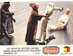 "PUB FIGURINES  "" LA GUERRE DES ETOILES "" "" L'EMPIRE CONTRE-ATTAQUE "" 1982 (8) - Premiera Aparición (1977 – 1985)"