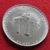 Turkey 2.50 Lira 1977 FAO F.a.o. - Turquia