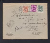 Brief Utrecht 1935 Eigen Volk Vignette - 1891-1948 (Wilhelmine)