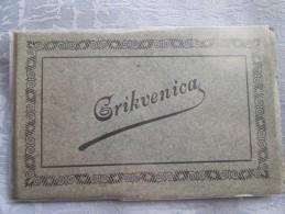 CROATIE . CARNET MULTIVUES . GRIKVENICA - Croatia