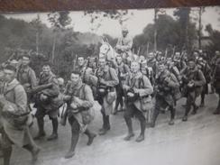 Cate Photo Militaria Surement Guerre De 14/18 Retour Ou Départ Pour Le Front 4 Et 6 Au Col - Guerre 1914-18