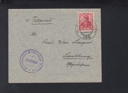 KuK Feldpost 160 Artillerie Messtrupp 1916 - Briefe U. Dokumente