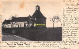 CPA  SOUVENIR DE FONTAINE L'EVEQUE NELS SERIE 5 NO 30 LA CHAPELLE DE LA BRIQUETERIE - Fontaine-l'Evêque