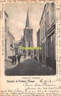 CPA  SOUVENIR DE FONTAINE L'EVEQUE NELS SERIE 5 NO 27 L'EGLISE ST CHRISTOPHE - Fontaine-l'Evêque