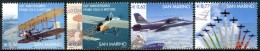"SAN  MARINO  2003  MNH   -  "" CENTENAIRE AVIATION / PLANES ""  -  4  VAL. - Saint-Marin"