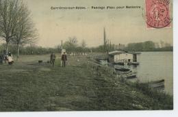 CARRIERES SUR SEINE - Passage D'eau Pour Nanterre - Carrières-sur-Seine