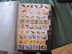 Collection Thematique En Series Completes Obliterees Et Aussi Des Blocs Et Feuillets(CLB) - Stamps