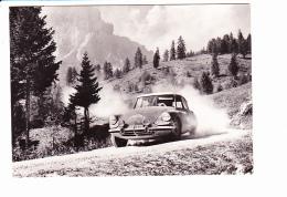 CITROËN ID 19 De Mmes BOUCHET-KISSEL Dans Les Dolomites Au LIEGE-SOFIA-LIEGE 1962,Photo JUNIOR Ed. Société André Citroën - Rallyes