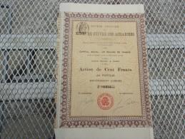 MINES DE CUIVRE DES ACHAICHES (algerie) 1906 - Azioni & Titoli