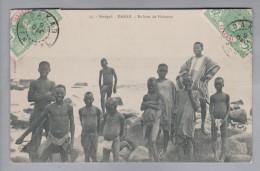 AK Senegal Dakar 1908-10-09 Foto Nach Monthellier - Sénégal