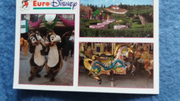 CPM DISNEY EURODISNEY FANTASYLAND MICKEY TIC TAC - Disneyland
