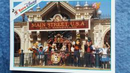 CPM DISNEY EURODISNEY MAIN STREET STATION MICKEY - Disneyland