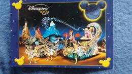 CPM DISNEY EURODISNEY FANTILLUSION PARADE FEERIE MICKEY CARTE A TROU - Disneyland