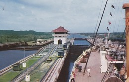 PANAMA--esclusas De Gatun Del CANAL DE PANAMA-- Voir 2 Scans - Panama