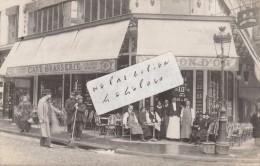 """PARIS  - Café-Brasserie """" AU  LION D'OR """"           ( Carte-photo ) - Pubs, Hotels, Restaurants"""