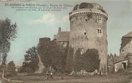 -depts Div -ref LL354- Vendee - Saint Mesmin Le Vieux - St Mesmin Le Vieux - Donjon Du Chateau - Chateaux - - France