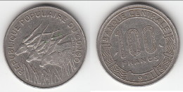 **** CONGO REPUBLIQUE - 100 FRANCS 1971 **** EN ACHAT IMMEDIAT !!! - Congo (Republiek 1960)