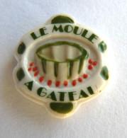 FEVE PUBLICITAIRE MAURIN Perso Le Moule A Gateau Polychrome Fond Blanc 2 - Oude