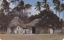 """PANAMA--the """"bohio"""" Is The Picturesque Home ......-- Voir 2 Scans - Panama"""