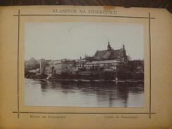Photo Pologne Polska Collée Sur Papier 10 X 6.5 Cm Klasztor Na Zwirzyncu Cloître De Zwierzyniec - Lieux