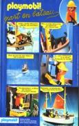 "PUB  PLAYMOBIL "" PLAYMOBIL PART EN BATEAU  ""1984 (1) - Playmobil"