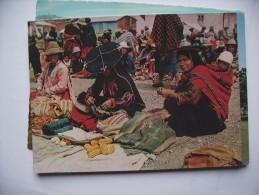 Peru Market Cusco With Indian Women - Peru
