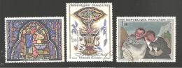 FRANCE Série N°1492 Au 1494 Oblitéré - Francia