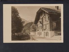 Schweiz AK 1936 Hotel Bären Gadmen - BE Bern