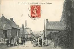 E-16 1214 : TEMPLEUX LE GUERARD RUE DU FAUBOURG - Ohne Zuordnung