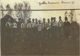 """PHOTO ( 110 X 78 Mm ) équipe De Football """" Gallia- Bordeaux - Bastide  - Date 1908 /1912 - Bordeaux"""