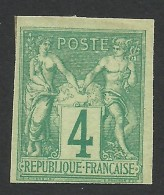 French Colonies, 4 C. 1877, Sc # 25, Mi # 26, MH - Sage