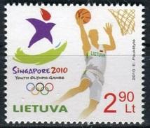 2010 - LITHUANIA - YOUTH OLYMPIC GAMES - GIOCHI OLIMPICI DELLA GIOVENTU´ DI SINGAPORE. MNH - Serbia