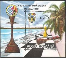 Romania 1992 BF Nuovo** - Mi.273  Yv.218 - Blocchi & Foglietti